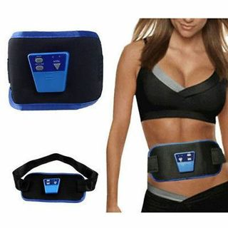 AB Gymnic Front Muscle Arm leg Waist Abdominal Massage Slim Fit Toning Belt UF