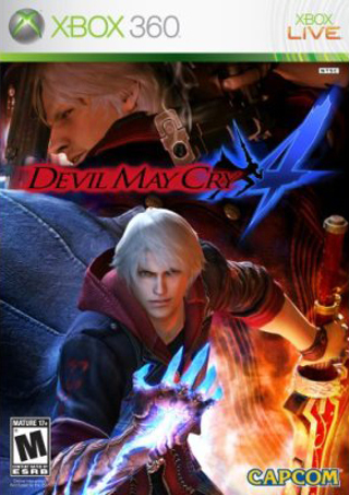 *NEW* - DEVIL MAY CRY 4 for Microsoft XBOX 360