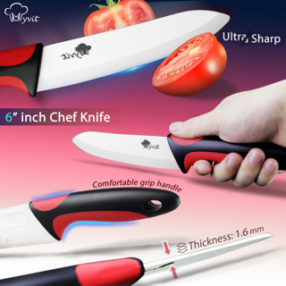 Ceramic new  Knife Kitchen Knives- 3 4 5 6 Inch With Peeler Chef Paring Fruit