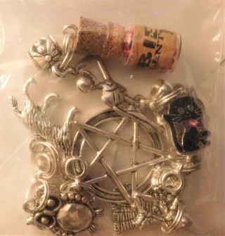 Witch Themed Jewelry Charms