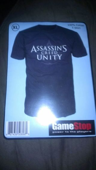 free rare employee swag new sealed size xl assassin s creed unity