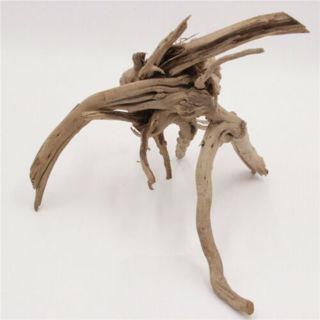 Driftwood Aquarium Ornament - Stump Cuckoo Root Tree Trunk Decor Fish Tank