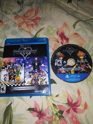 PS4 KINGDOM HEARTS 1.5 & 2.5 H.D. REMIX...6 COMPLETE GAMES...VERY GOOD CONDITION...FREE SHIPPING...