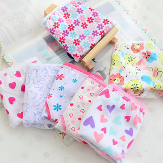 2PCs/Pack New Baby Girls Underwear Cotton Panties Kids Short Briefs Underpants