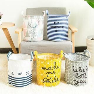 Foldable Oxford Fabric Washing Clothes Laundry Basket Sorter Bag Hamper Storage