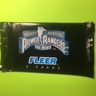 Sealed pack of 1995 Power Rangers Cards!