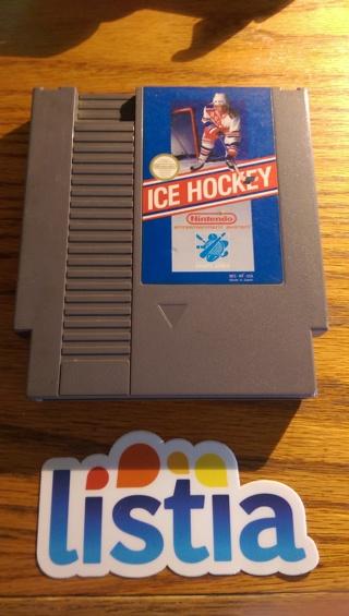 NES NINTENDO GAME ICE HOCKEY