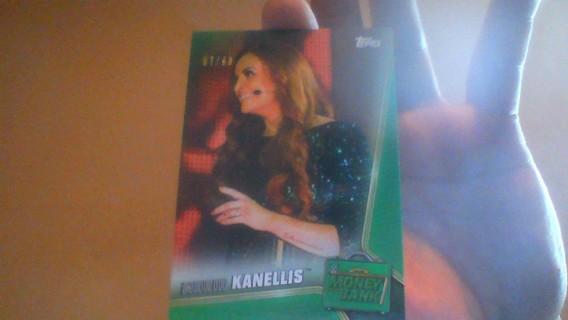 2019 TOPP WWE MARIA KANELLIS 7/99