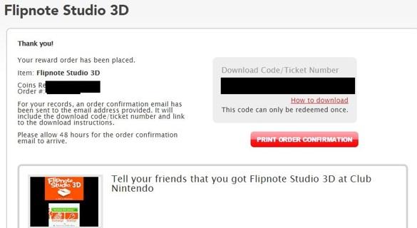 Free: Flipnote Studio 3D code for Nintendo 3DS - Video Game