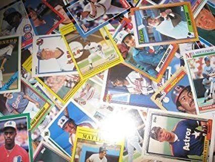 5 Random Baseball Cards