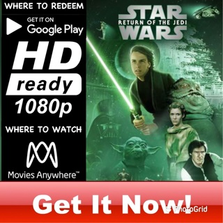 STAR WARS: RETURN OF THE JEDI HD GOOGLE PLAY CODE ONLY