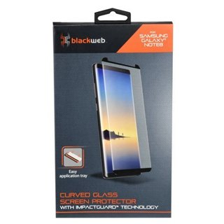 Samsung Galaxy Note 8/9 Tempered Glass Screen Protector - Blackweb