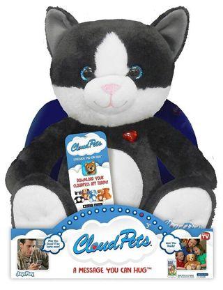 Free Cloudpets Talking Cat Recordable Stuffed Animal Dolls
