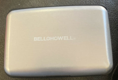 Bell + Howell E-Charge Wallet RFID Protected As Seen on TV Phone Charger