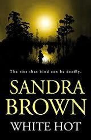 WHITE HOT by Sandra Brown (HB/DJ-VGC)