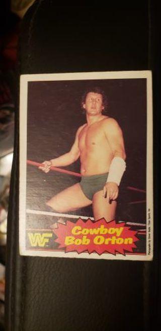 WWF Wrestling Stars II. Cowboy Bob Orton 1985 #12