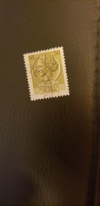 Italy stamp. Used