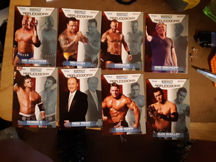 ~ 8 - 2012 TNA WRESTLING CARDS