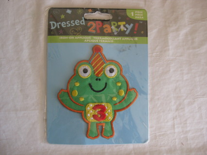 Iron-on BD applique, 3. NIP