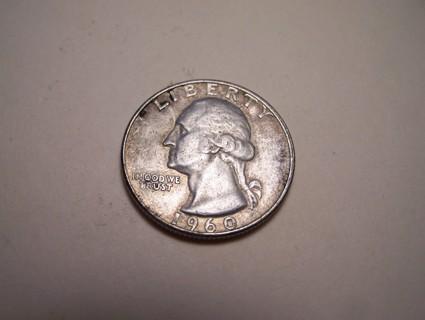 Silver 1960-D Washington Quarter