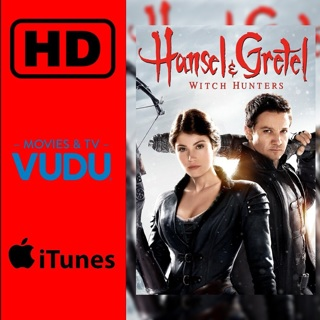 Hansel and Gretal Witch Hunters Digital HD movie code VUDU/ITUNES