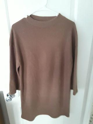 Women long sleeve dress (m)
