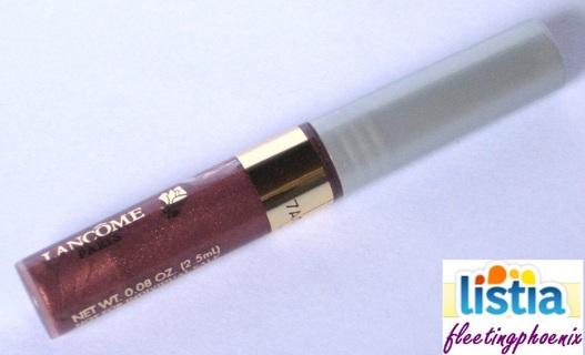 Lancome Star Gloss Brush-On Lip Shine PINK-BROWN SHIMMER .08 oz/2.5 ml Trial Size