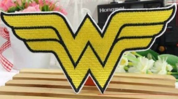 WONDER WOMAN IRON ON Patch DC Comics Clothing accessory Embroidery Applique
