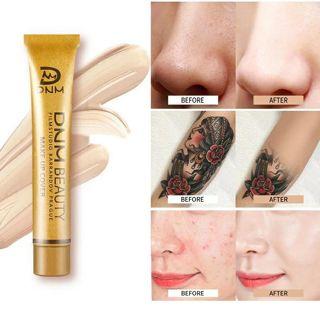 Waterproof Lasting Concealer Liquid Foundation Makeup Professional Full Cover Matte