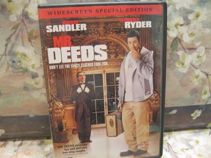 Mr.Deeds DVD