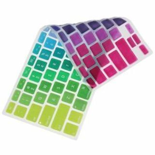 Sticker Retina Colorful Rainbow Cover Silicone For Macbook Air Keyboard