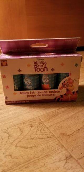 Winnie the pooh paint set