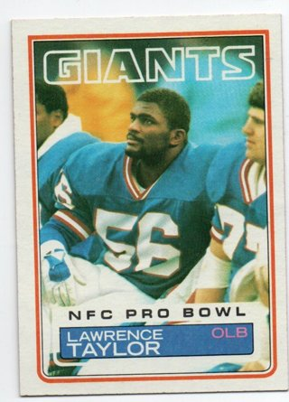 1983 Topps Lawrence Taylor 2nd Year