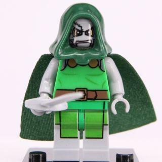New Dr. Doom Minifigure Building Toy Custom Lego