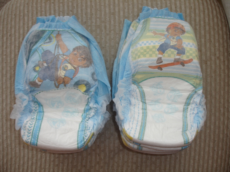 Free 8 Size 5 Pampers Easy Ups Diego Boys Pull Ups