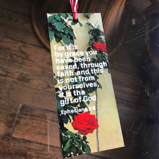 Limited edition Bible-Verse Bookmark (thick & wide)