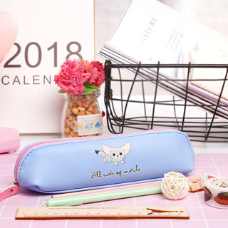 Fashion Cartoon Pencil Case Pen Bags Makeup Cosmetic Bag