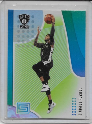 D'Angelo Russell 2018-19 Status Green #20