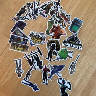 Lot of 40 Fortnite Stickers
