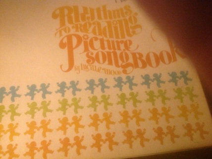 RHYTHMS, TO READINGS PICTURE SONGBOOK by LUCILLE WOOD