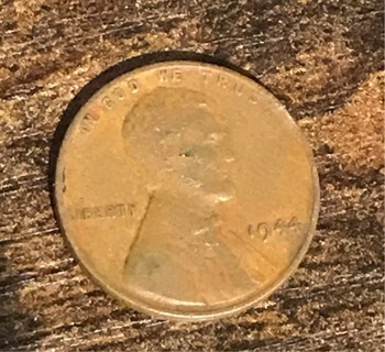 1944 Lincoln Wheat Cent Penny Coin
