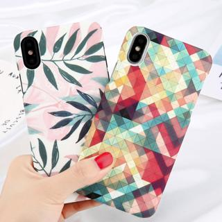 Shockproof Ultra Slim Pattern Matte Hard Case Cover For iPhone 7 8 XR /XS MAX/ X