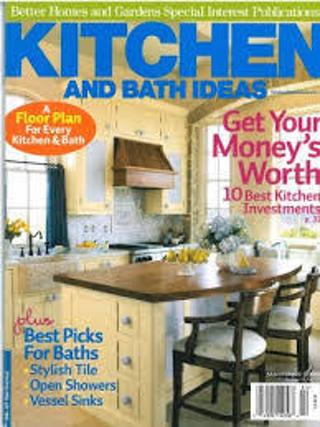 BETTER HOMES and GARDENS: KITCHEN and BATH IDEAS (HB/VGC) #LLP.50-MKC7
