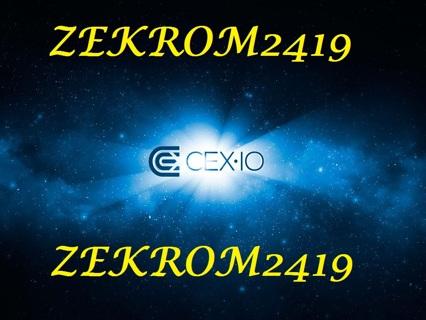 1.0 GH/s CEX.IO Voucher Code W/ GIN OFFER