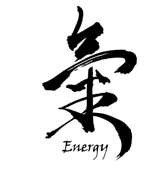 Free Energy Or Chi Japanese Kanji Poster 8x10 Other Craft Items