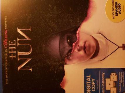 The Nun. Digital code