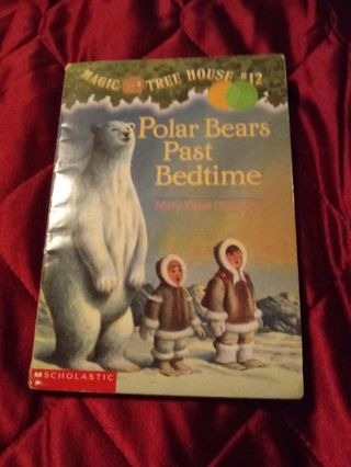 Used Magic Tree House Book Polar Bears Past Bedtime