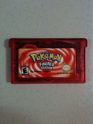 pokemon fire gameboy
