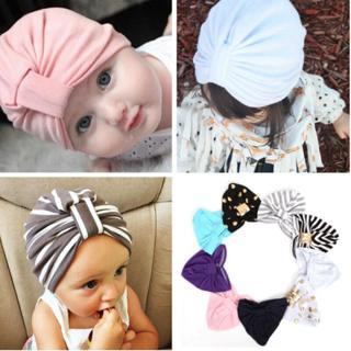 Baby Girls Jersey Turban Hat Child Hat Maverick Baby Kids Turban Beanie Hat
