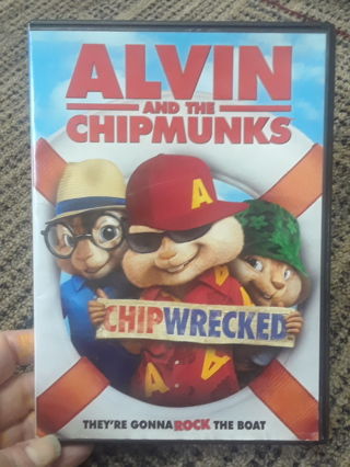 Alvin & the Chipmunks DVD - PICK ONE UNLESS YOU GIN